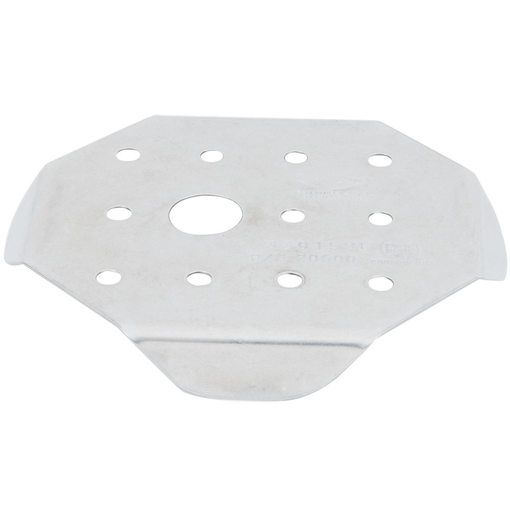 Vollrath 20600 Super Pan V 1/6 Size Stainless Steel Steam Table / Hotel Pan False Bottom