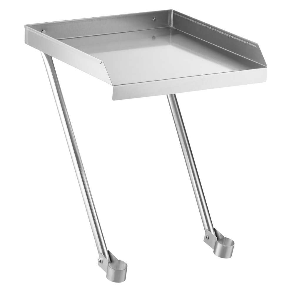 Regency 18 inch x 18 inch 18-Gauge Stainless Steel Detachable Drainboard