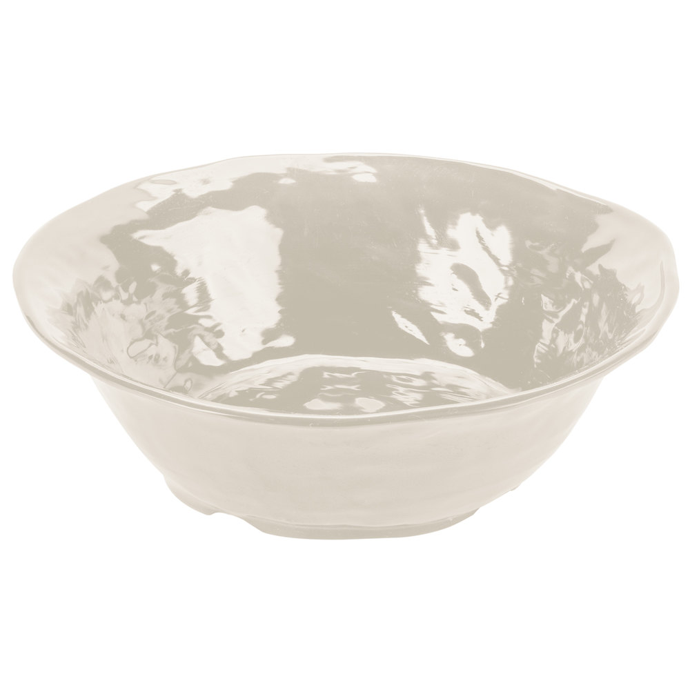 "GET ML-134-IV New Yorker 16"" Round Bowl - Ivory"