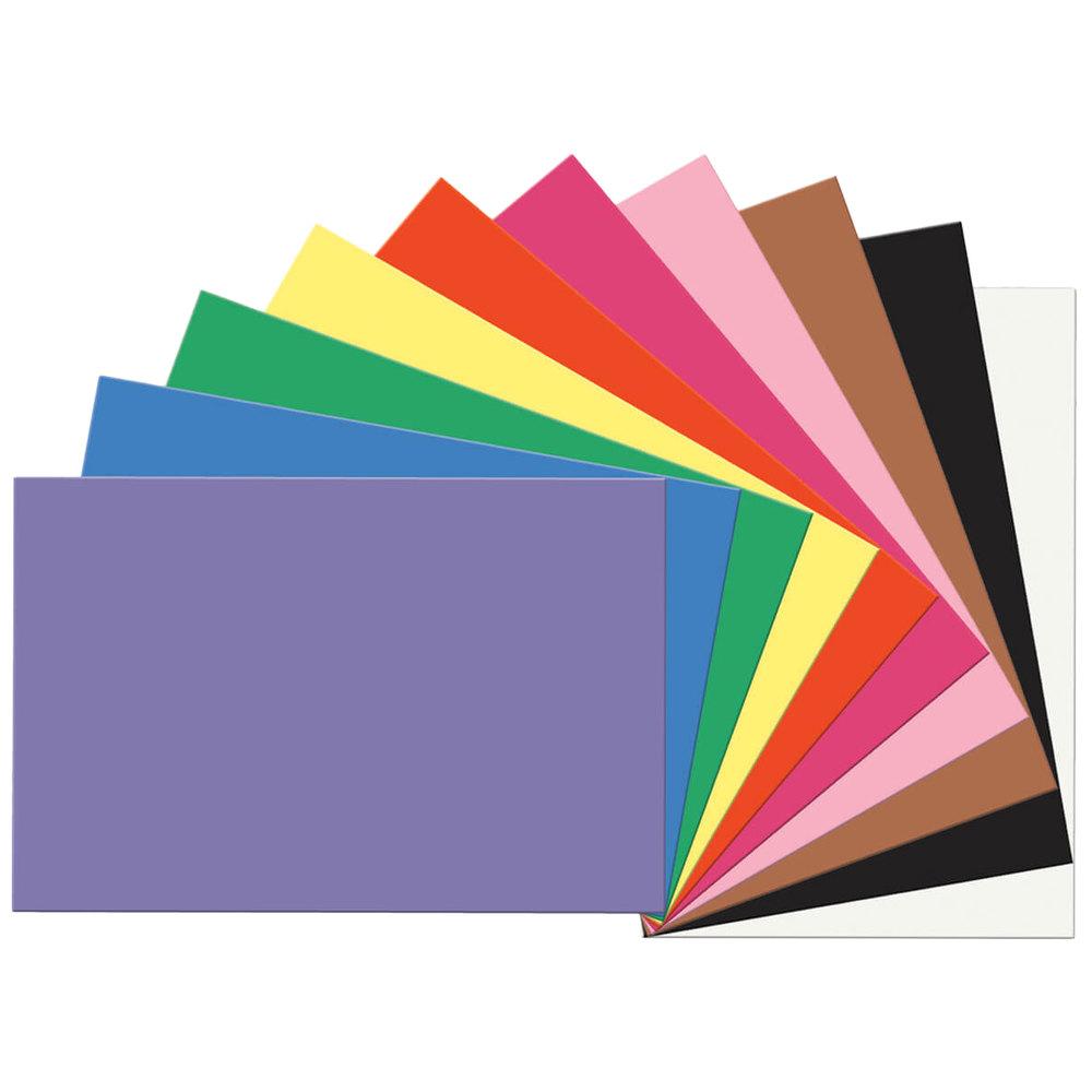 Construction Paper 12x18 Staples