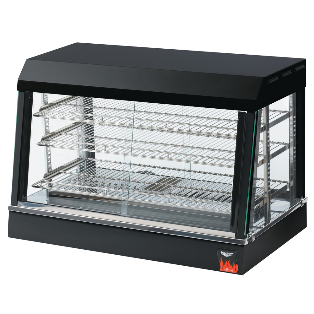 Large Food Warmer ~ Vollrath quot hot food display case warmer