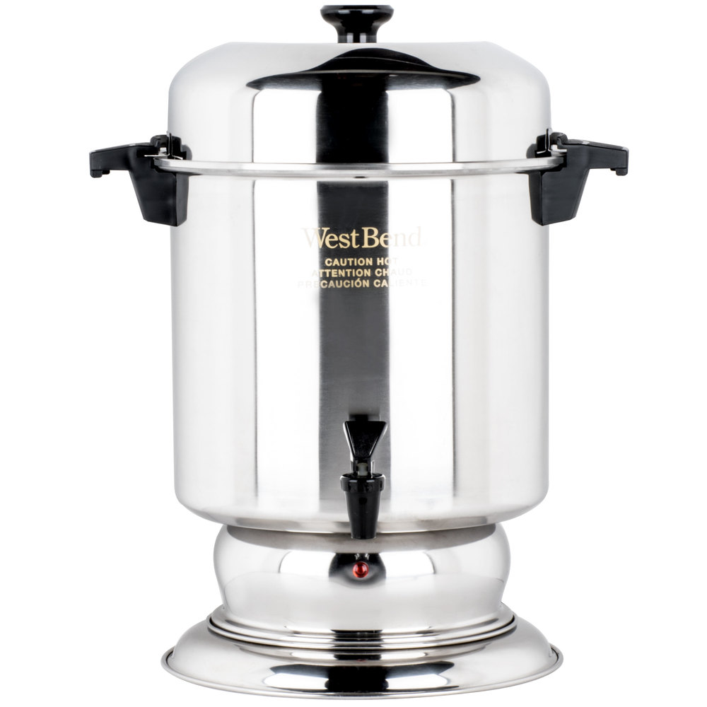 55 Cup Coffee Maker Instructions : Stainless Steel Coffee Urn Regalware K1355 55 Cup (2.2 Gallon)