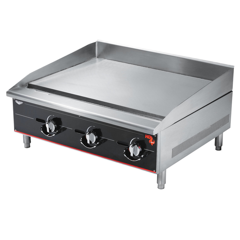 Heavy Duty Countertop : Vollrath ggm cayenne quot heavy duty countertop griddle