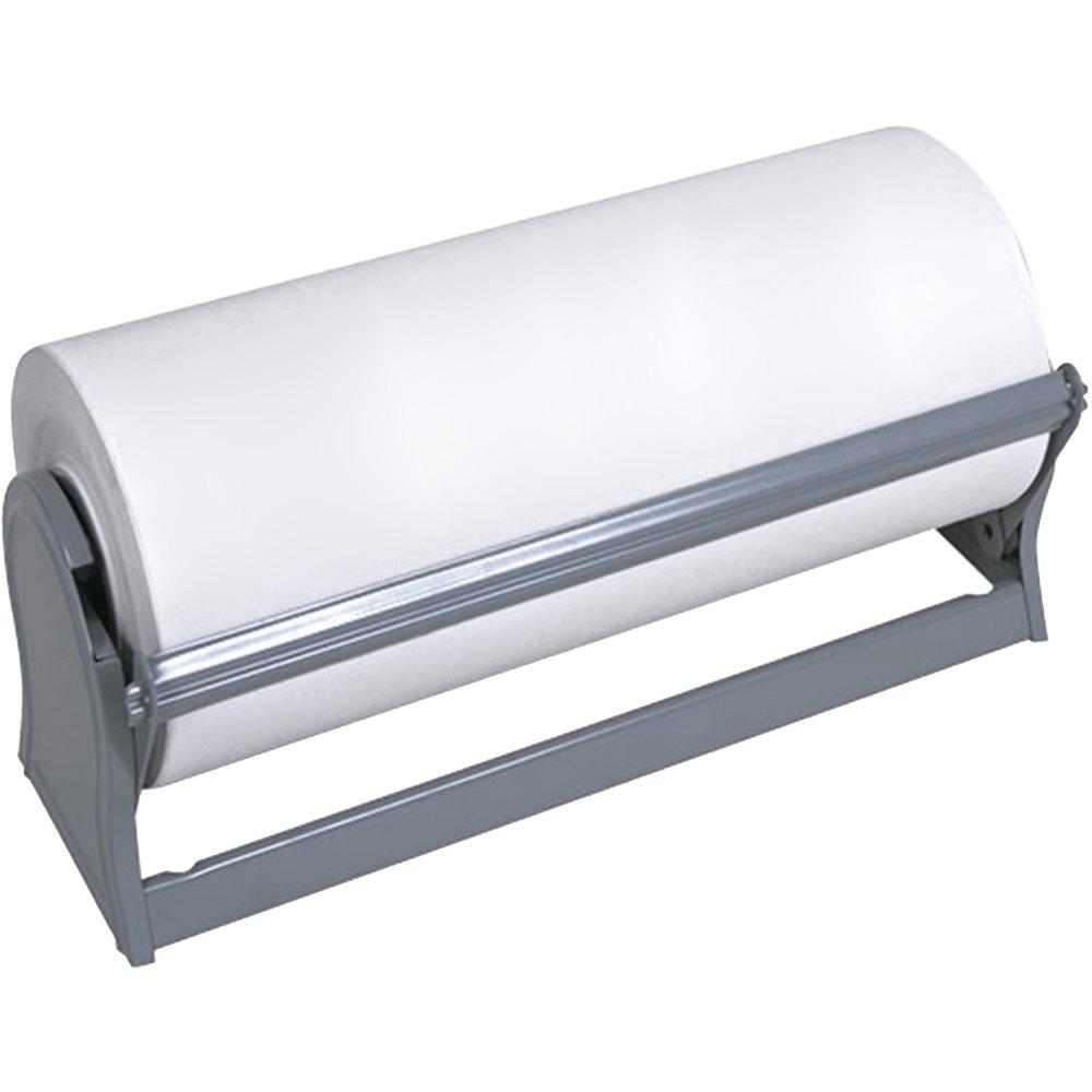 bulman a52018 18 inch deluxe allinone paper dispenser cutter