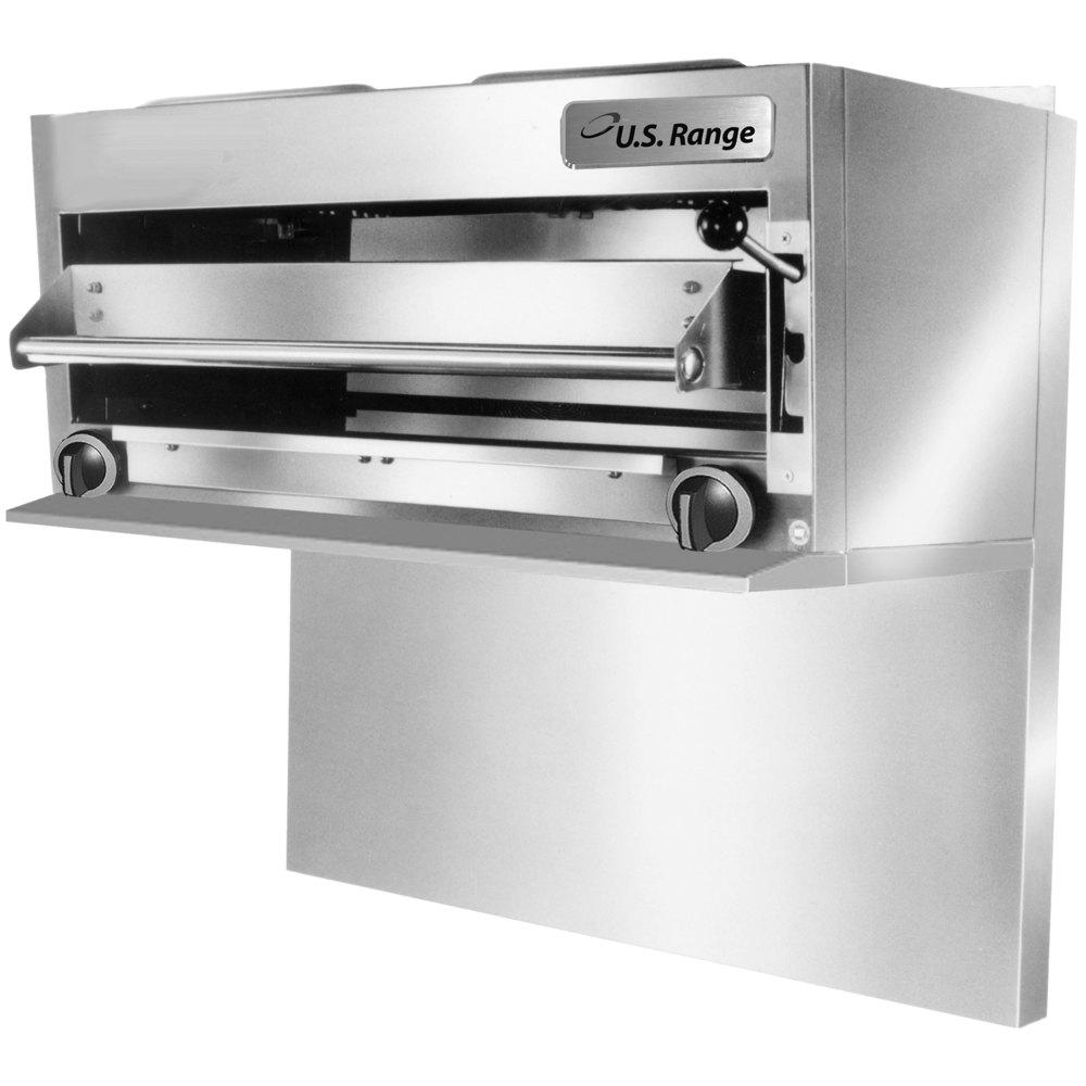 Salamander Kitchen Appliance Us Range Uir36 Natural Gas Range Mount Infra Red Salamander