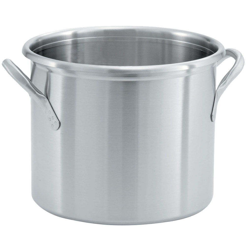 Vollrath 77620 Tri Ply 24 Qt. Stainless Steel Stock Pot