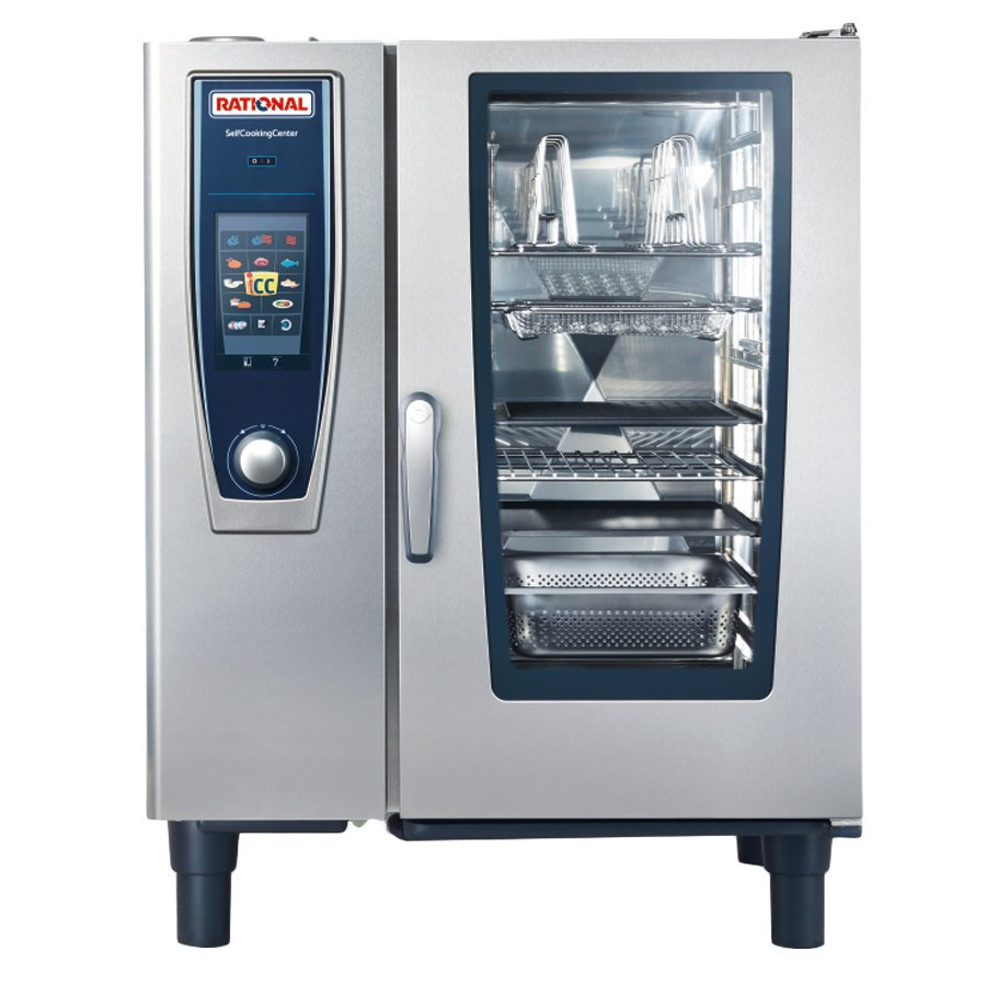 Gas Ranges >> Rational SelfCookingCenter 5 Senses Model 101 B118106.43 Single Electric Combi Oven - 480V, 3 ...