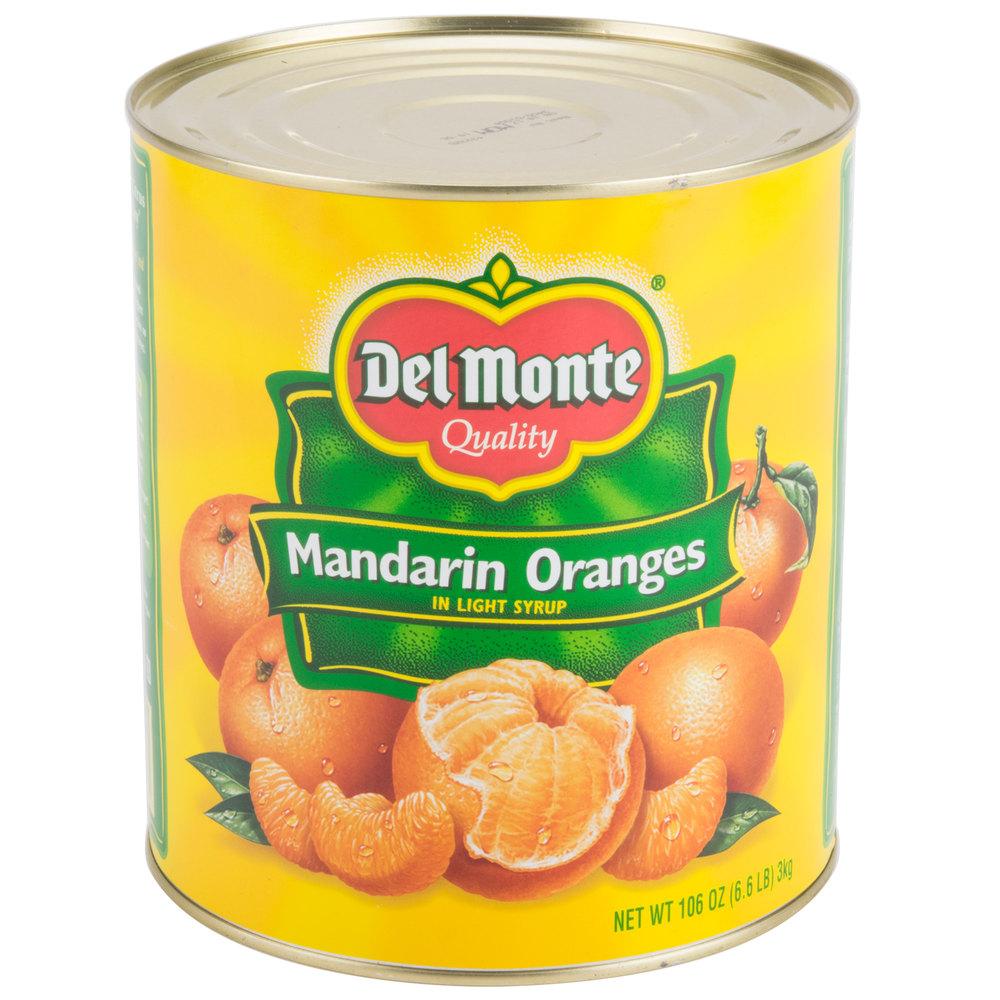 Whole Mandarin Oranges in Light Syrup | Canned Mandarin Oranges ...