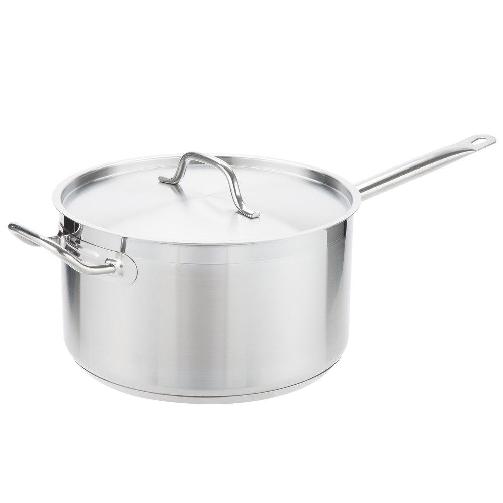 Aluminum 10 Quart Sauce Pan