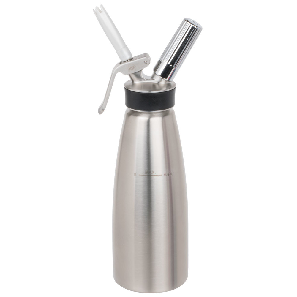 Creamright 1 Pint All Aluminum Pint Whipper-100 iSi Professional Cream Chargers
