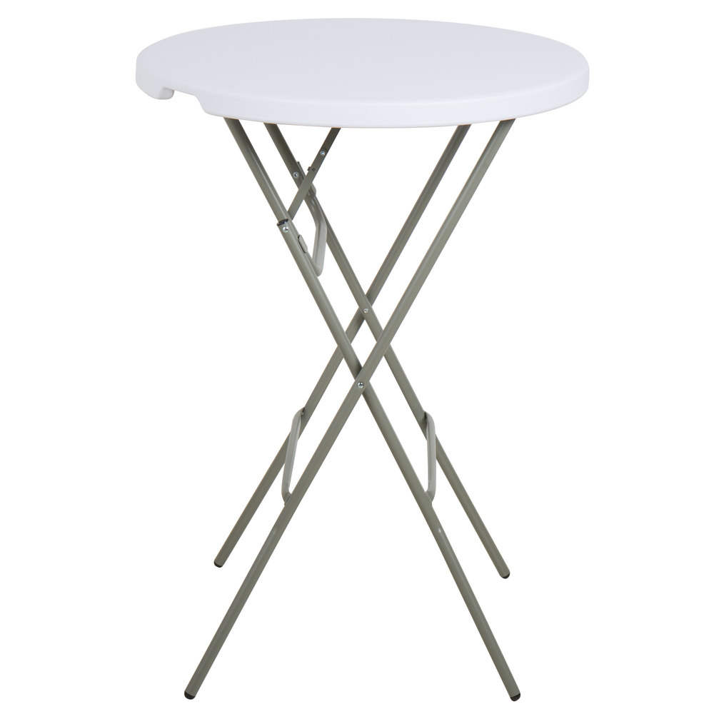 Lancaster Table Amp Seating 32 Quot Round White Granite Heavy