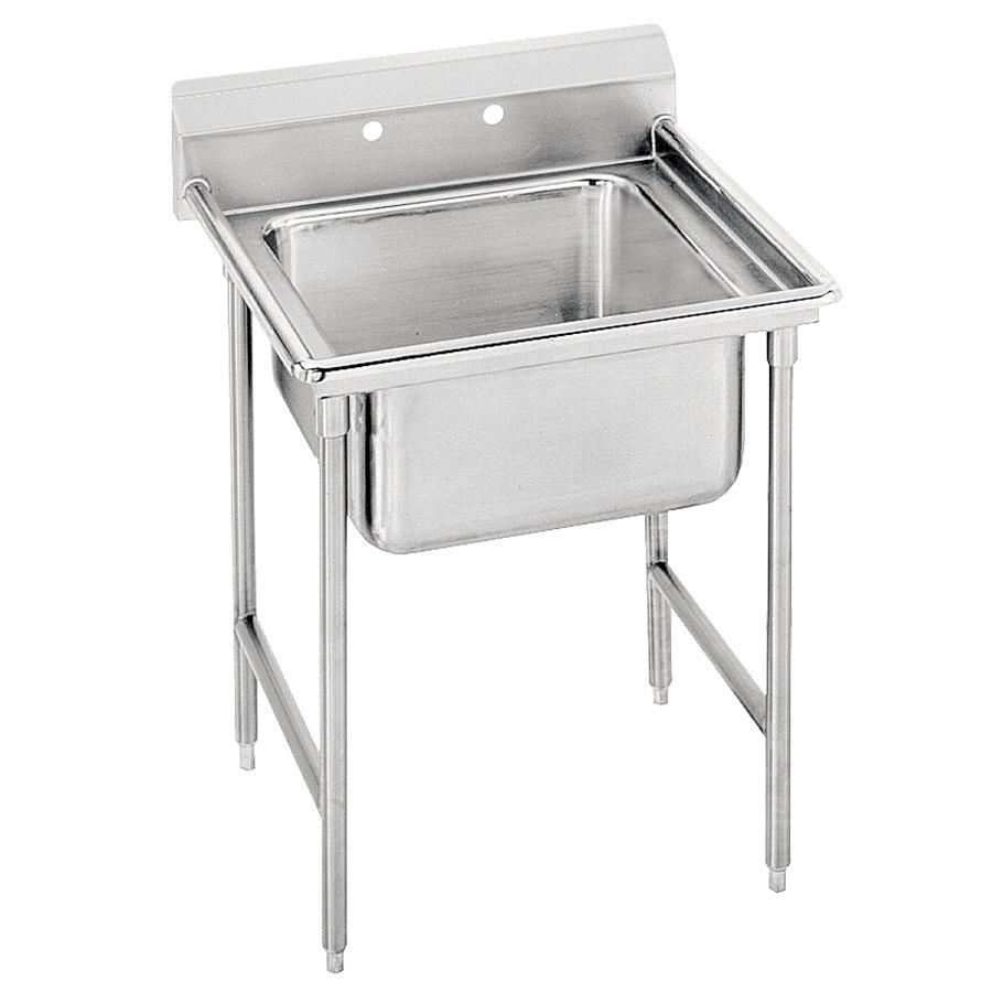 Advance Tabco 9-1-24 Super Saver One Compartment Pot Sink - 25""