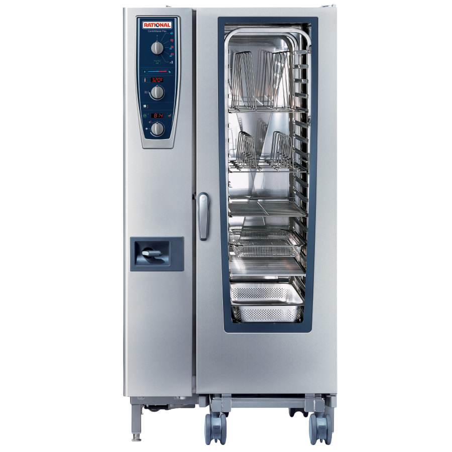 Rational CombiMaster Plus Model 201 B219106.12.202 Single Electric ...