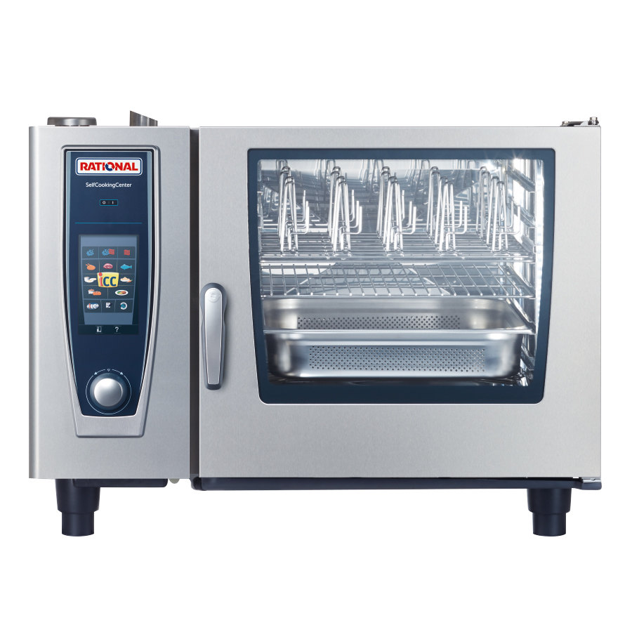 Rational SelfCookingCenter 5 Senses Model 62 B628106.43 Single Electric Combi  Oven - 480V, 3 Phase, 22.1 kW