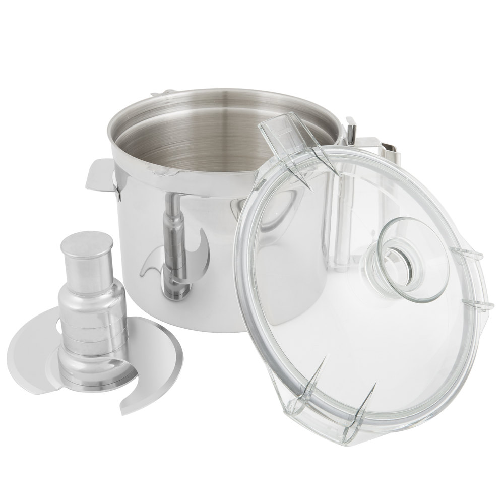 Robot Coupe 27128 Stainless Steel 7 Qt. Cutter Bowl Kit
