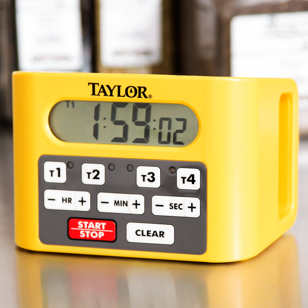 Taylor 5839 Four Event Commercial Kitchen Timer