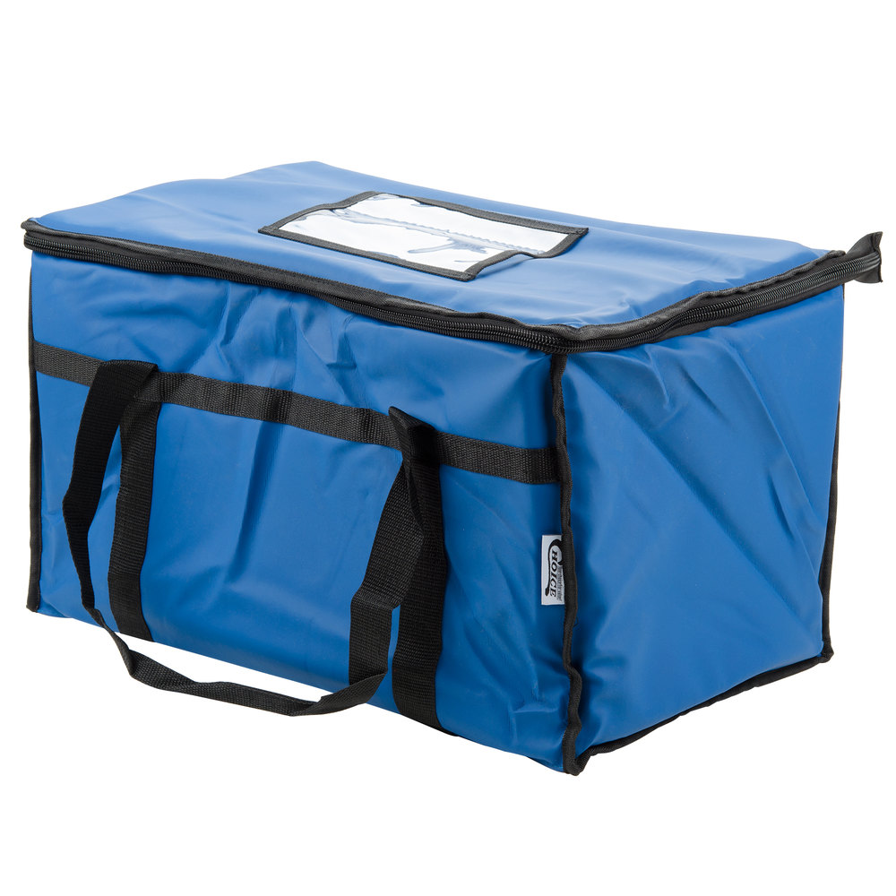 Choice 23 Quot X 13 Quot X 15 Quot Blue Insulated Nylon Food Delivery