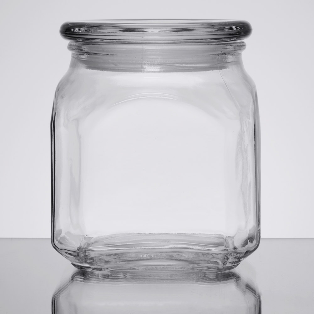 Anchor Hocking 85976 Emma 20 Oz. Glass Jar With Lid