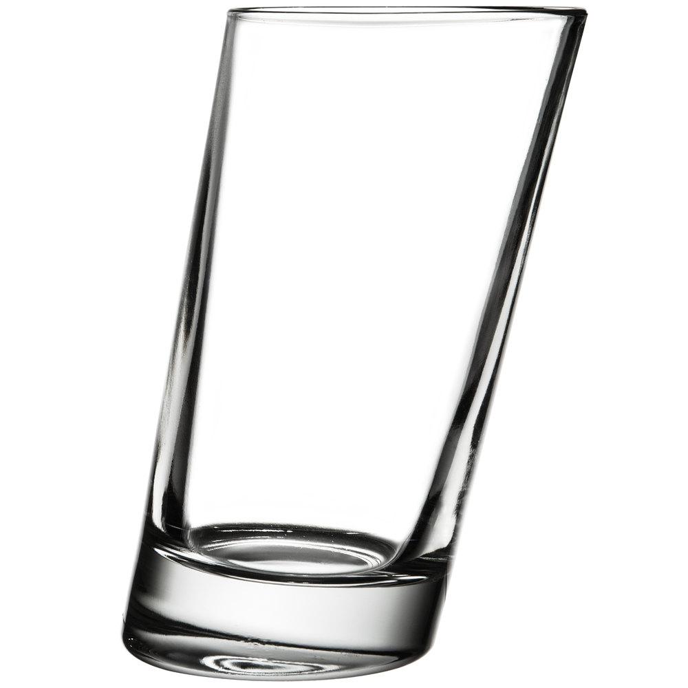 Slanted Drinking Glasses