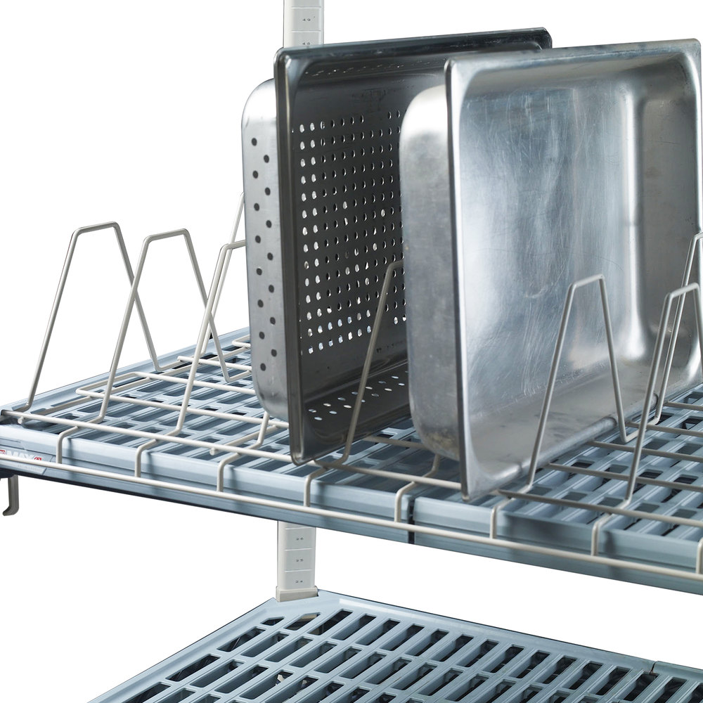 "Metro MTR2460XE Metromax iQ Drying Rack for Cutting Boards, Pans, and Trays 24"" x 60"" x 6"""