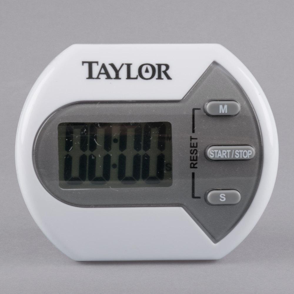 Taylor 5806 Splash Resistant Compact Digital Kitchen Timer