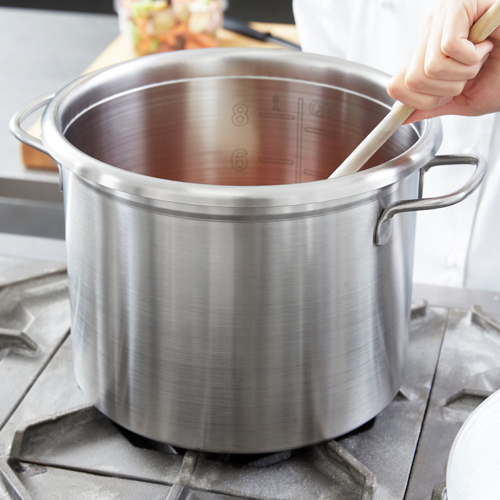 vollrath 77560 tri ply 10 qt stainless steel stock pot. Black Bedroom Furniture Sets. Home Design Ideas