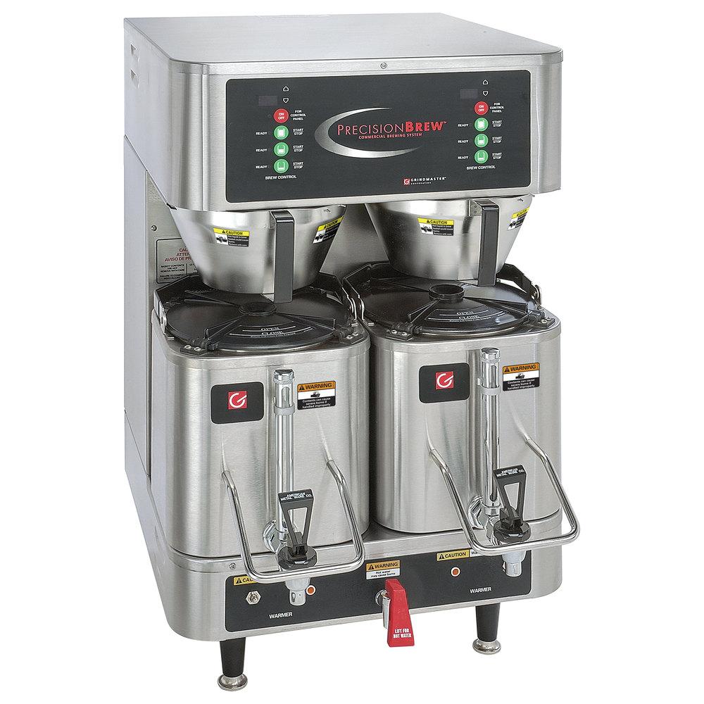 Grindmaster Pb 430 15 Gallon Twin Shuttle Coffee Brewer 120 208 240v Bunn Brew Phase Wiring Diagram