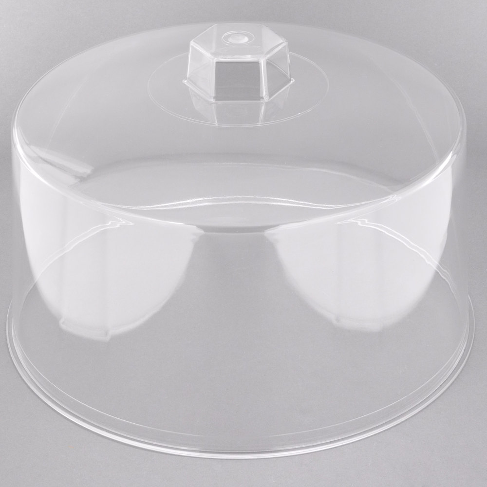 Tablecraft 421 12 Quot Clear Plastic Cake Cover