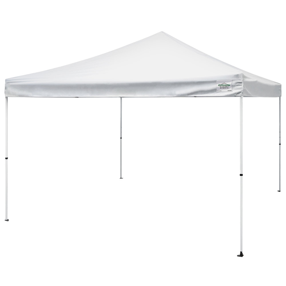 Caravan Canopy 21208100010 M Series Pro 2 12 X 12 White Straight Leg Instant Canopy