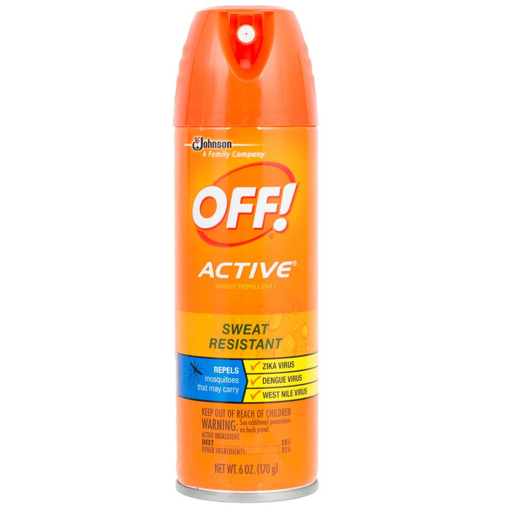 SC Johnson OFF!® 611079 6 oz. Active Insect Repellent I ...
