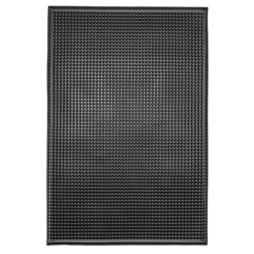 "12"" x 18"" Black Bar Mat"