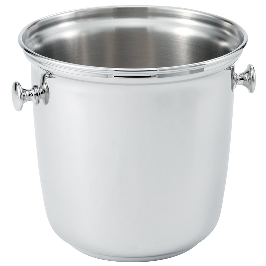 Vollrath 47625 Stainless Steel Double Bottle Wine Bucket with Handles