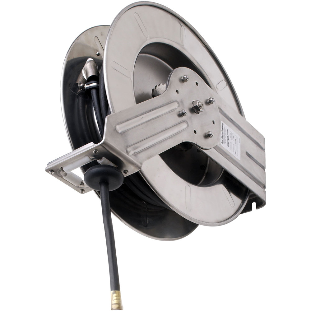 Fisher 73593 Industrial Reel Wall Mounted Exposed Hose Reel with 35 ...