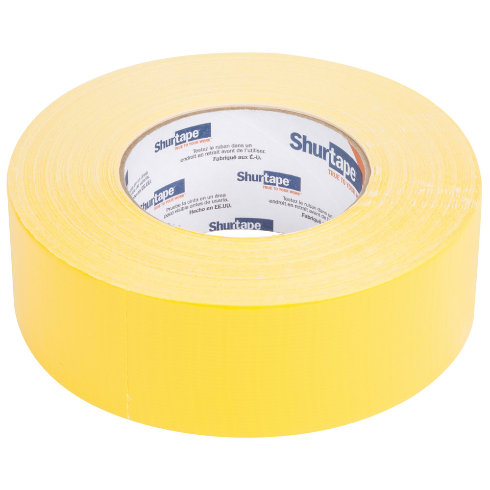 "Yellow Duct Tape 2"" x 60 Yards (48 mm x 55 m) - General Purpose High Tack"