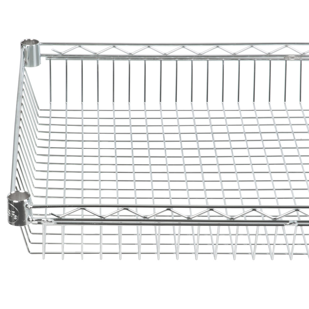 Regency 24 inch x 48 inch NSF Chrome Shelf Basket