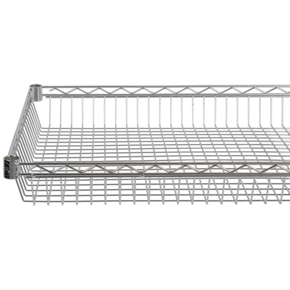 Regency 24 inch x 36 inch NSF Chrome Shelf Basket