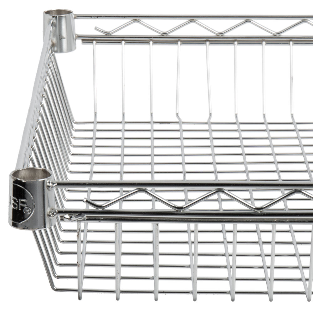 Regency 24 inch x 24 inch NSF Chrome Shelf Basket