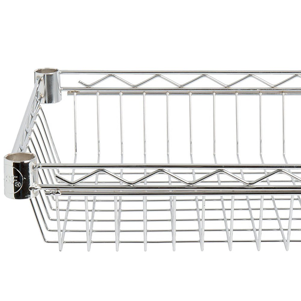 Regency 18 inch x 24 inch NSF Chrome Shelf Basket