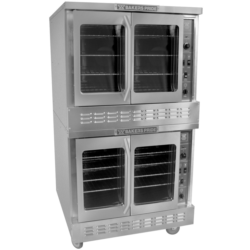 Electric Oven Catering ~ Bakers pride bpcv e restaurant series bakery depth double