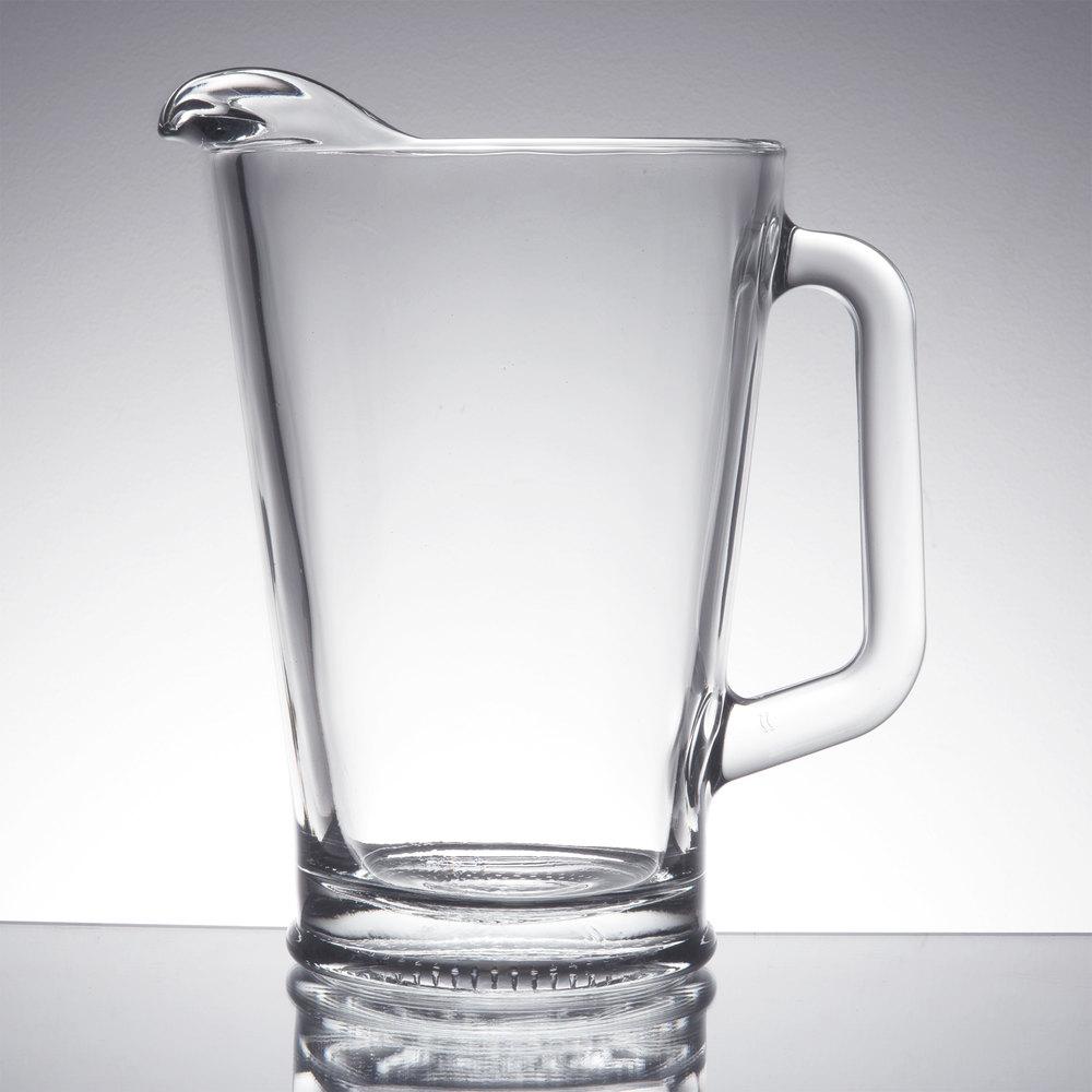 libbey 5260 60 oz glass pitcher. Black Bedroom Furniture Sets. Home Design Ideas