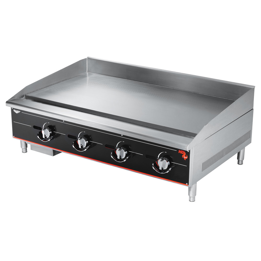 Heavy Duty Countertop : Vollrath ggt cayenne quot heavy duty countertop griddle
