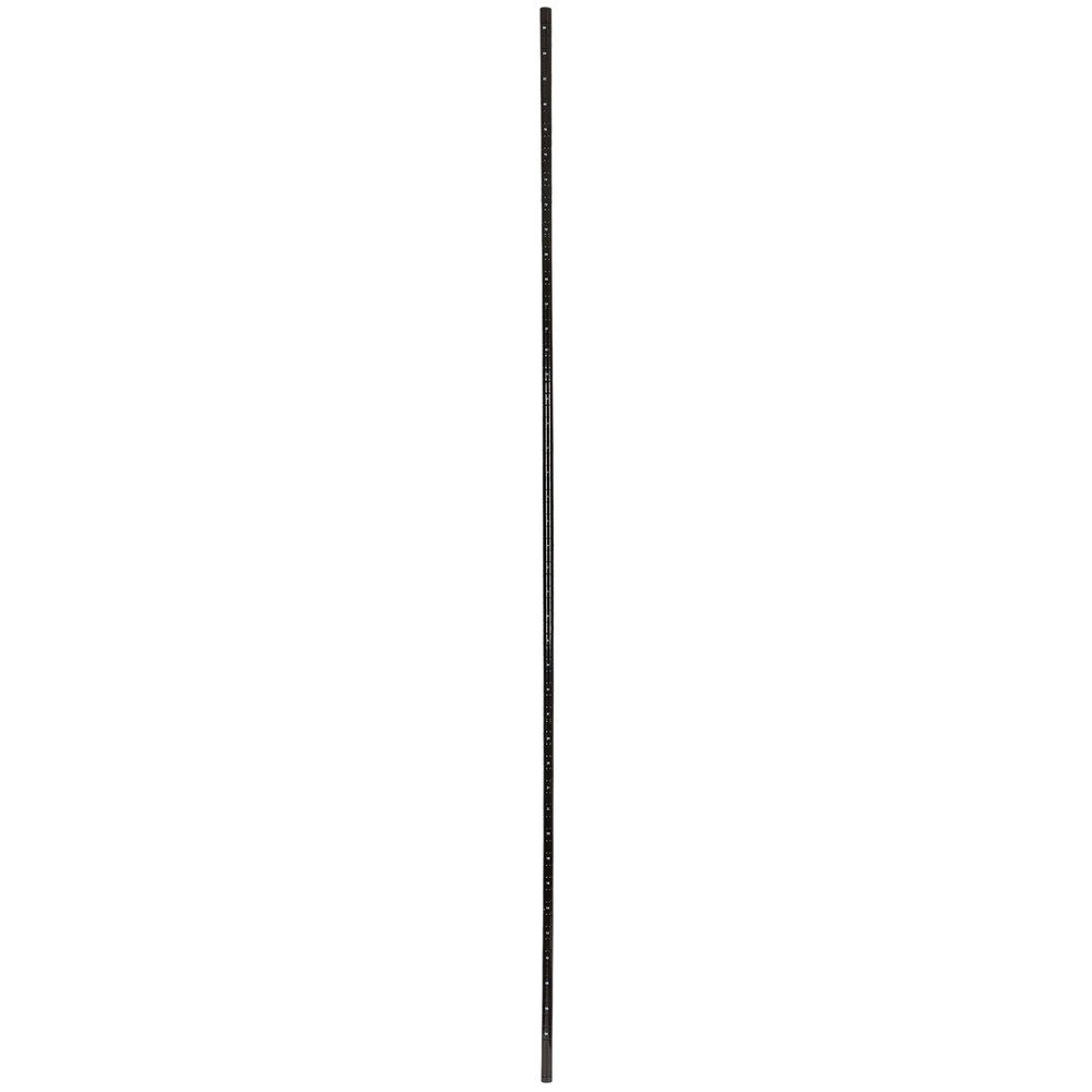Regency NSF 96 inch Black Epoxy Post