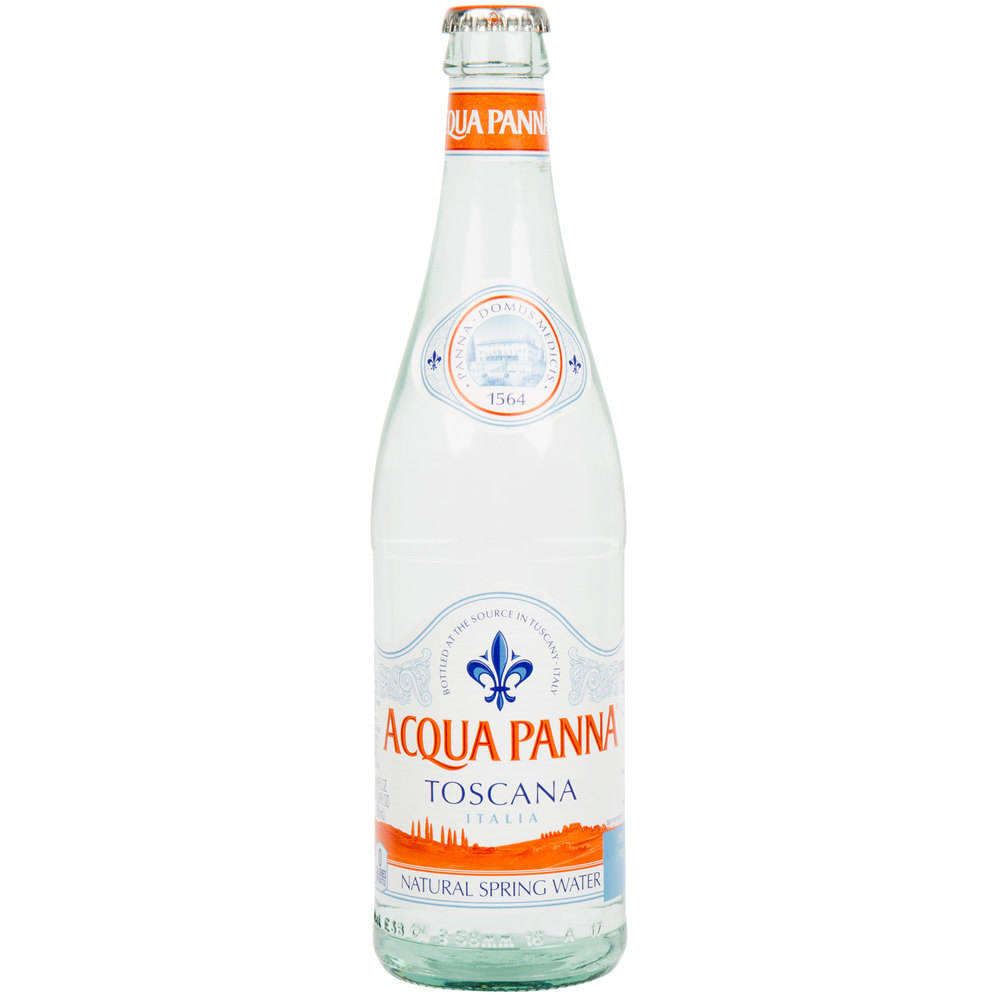 Acqua Panna 500 Ml Natural Spring Water In Glass Bottle