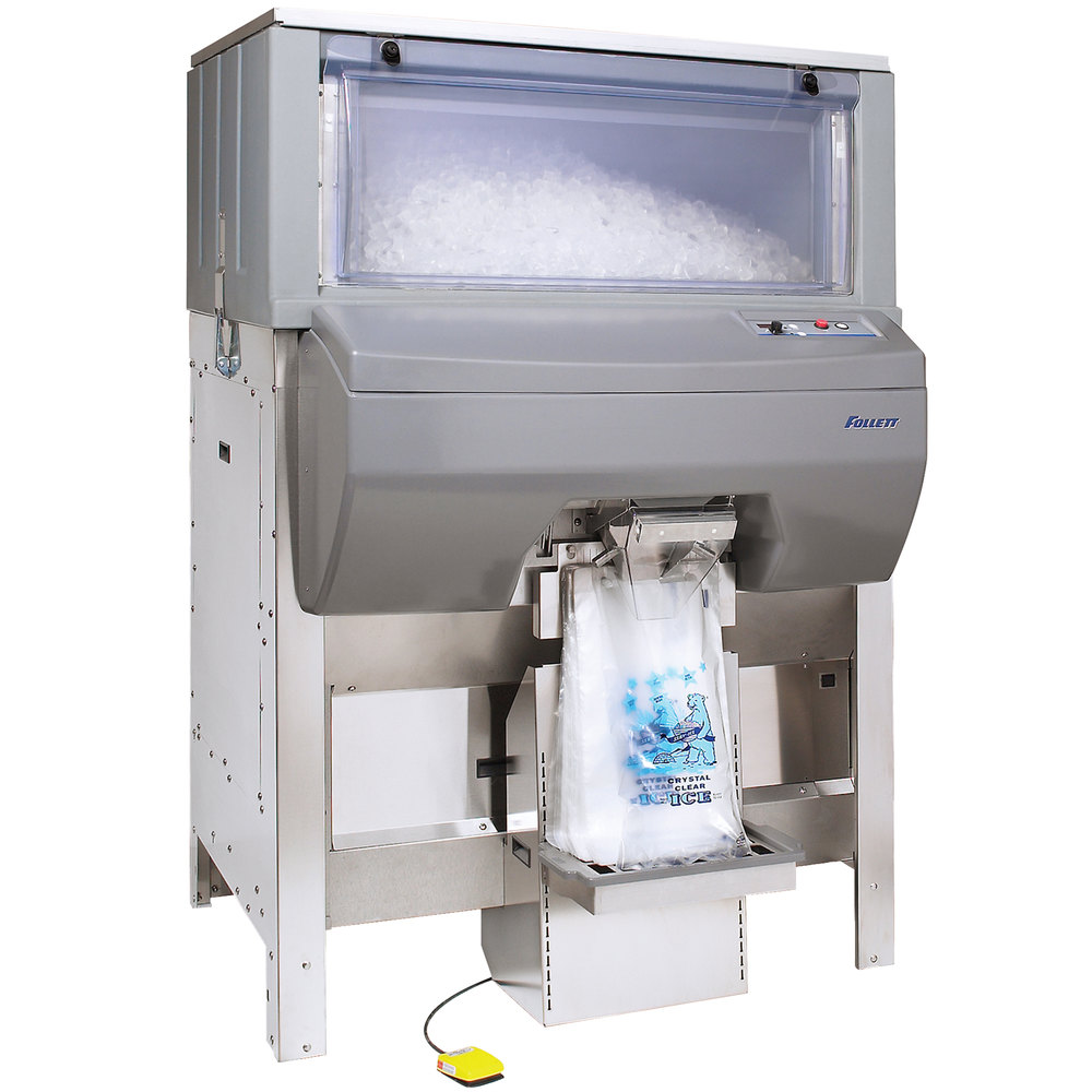 Automatic Dispensing Systems ~ Follett db ice pro automatic bagging and
