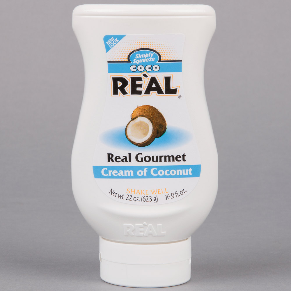 Gas Ranges >> Coco Real 22 oz. Cream of Coconut