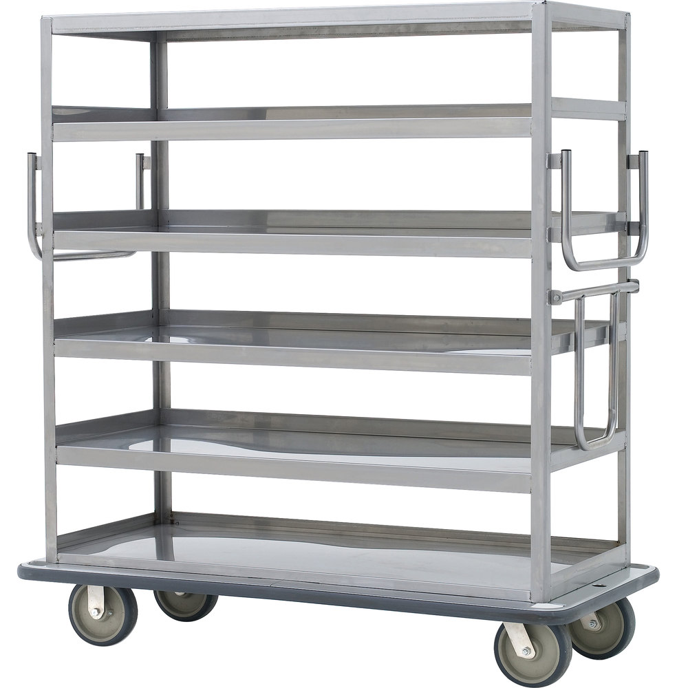 Metro Mq 512f Queen Mary Banquet Service Cart With 5 Flat