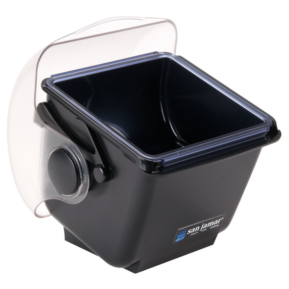 San Jamar BD2002 Mini Dome Garnish Center With Chillable Tray 1qt Capacity 1 for sale online