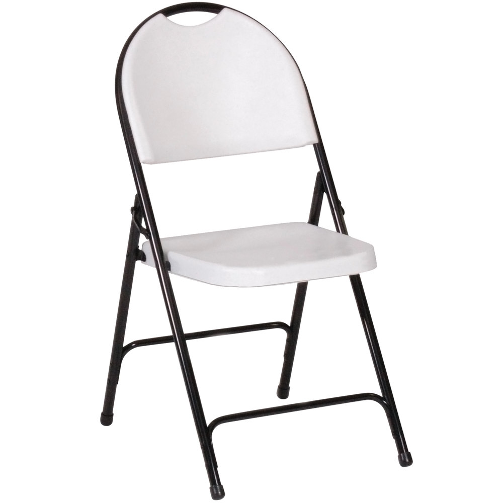 White plastic folding chairs -  Plastic Molded Folding Chair Main Picture