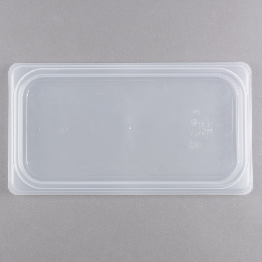 Cambro 30PPCWSC190 Camwear 1/3 Size Translucent Seal Cover