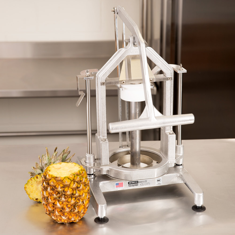 Nemco 55775-1 Easy Pineapple Corer / Peeler - 4""